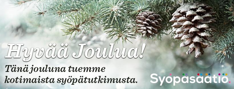 Syopasaatio_JOULUbanneri_820x313_esim FB cover kuva